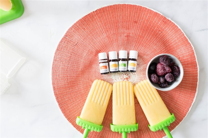 Citrus Coconut Popsicles